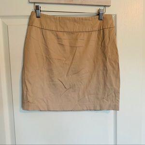 Forever 21 Tan Mini Skirt